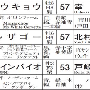 第25回 秋華賞(GⅠ) 予想5