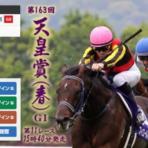 第163回天皇賞・春 GI 予想1