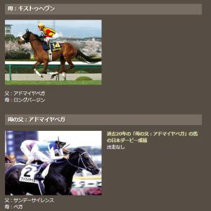 第88回東京優駿 GI 結論