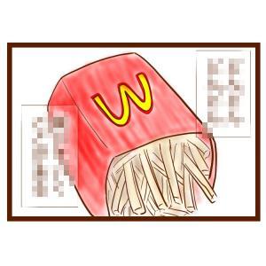 マクドナルドのポテトを食べていたら…。こんなことありませんか?