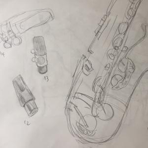 ここ最近で描いたもの