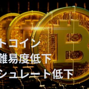ビットコインの採掘難易度やマイニングハッシュレートからみる仮想通貨市況