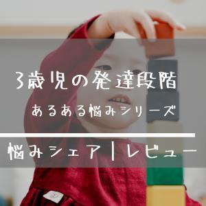 3歳児 特徴と発達段階についてあるある悩みネタ3選