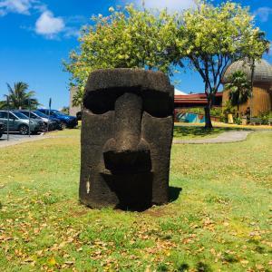 ハワイでイースター島に行った気分になる