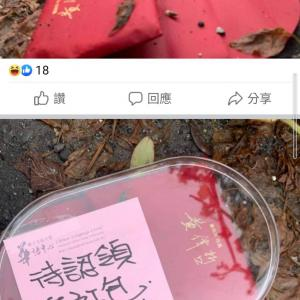 台南の道で二日間に独りぼっちで無視されたご祝儀さん