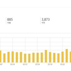 7月のアクセス数が、月3000PV&総アクセス3000PVを超えた話。
