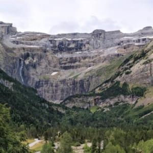 ピレネー・ガヴァルニー滝の気