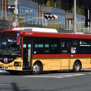 京阪バス W-3018号車 [京都 200 か 3866]