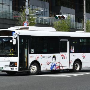京阪バス W-3009号車 [京都 200 か 2304]