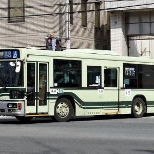 京都市バス 522号車 [京都 200 か 522]