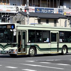 京都市バス 973号車 [京都 200 か ・973]