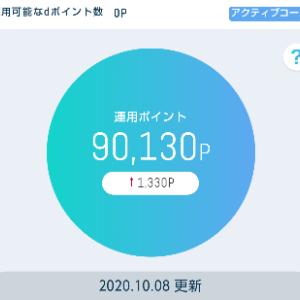 10月08日 dポイント投資~おまかせ編~