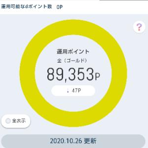 10月26日 dポイント投資~ゴールド編~