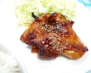 チキン照焼き、を食べてみました。