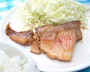 赤魚の煮付け、を食べてみました。