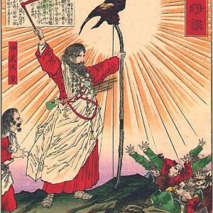 カラスは賢い💦  少納言👩は賀茂川で志津屋で買ったカスクート🥖をかっぱらわれた😭 ぼーっと生きてんじゃないよという戒めか( ̄▽ ̄;)