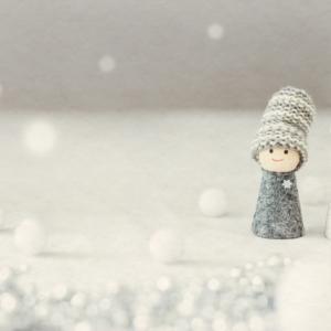 冬の朝☃️寒いけれども嫌いじゃないよ☃️🍃 心あてに‥の歌を思い出す雪景色❄️