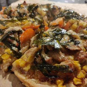 毎月恒例のホームピザ