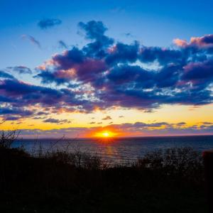 【12日目】道北へ。はじめての夕陽。