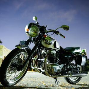 【8日目】バイクの後ろで。