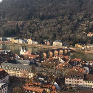 ドイツのハイデルベルクを歩く!Heidelberg!本当に素敵な街です