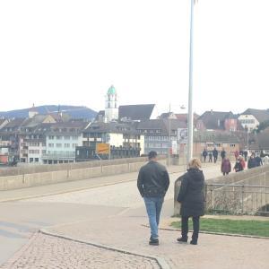 スイス&ドイツ!ラインフェルデンを歩く!Rheinfeldenを観光する。