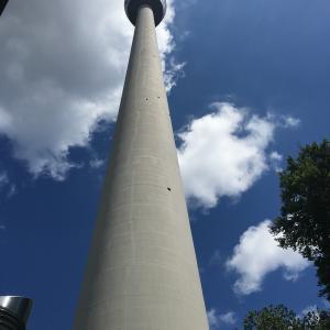 ドイツ!stuttgart「シュトゥットガルトのテレビ塔」Fernsehturm Stuttgart!