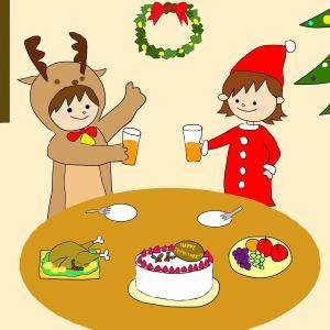 イラストACにクリスマスの新作投稿したよ😊