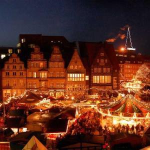 暗くなってからが 本番!本場の Weihnachtsmarkt 本来なら…