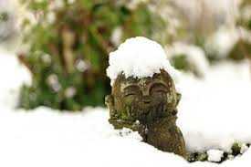 寿ぎの朝 雪の朝  かさじぞう