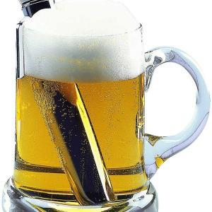 ビールは 常温!が 掟 Bierwärmer キンキンに冷えてる!は 言語道断