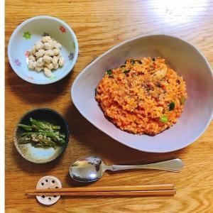 簡単&節約の鯖缶・野菜ジュースリゾット~血液サラサラ~