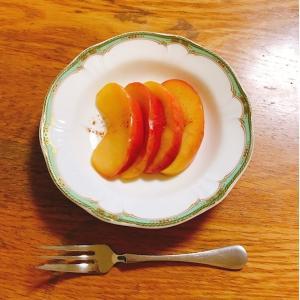 りんごとシナモンのコンポート~リラックスタイムに~