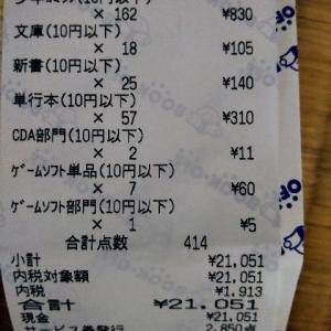 ブックオフで本を大量に売ったら2万円になった