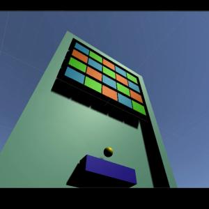 ブロック崩しの作り方1 ブロックを配置してフィールドを作る