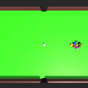 ビリヤードゲームの作り方1 ビリヤード台とボールを作る