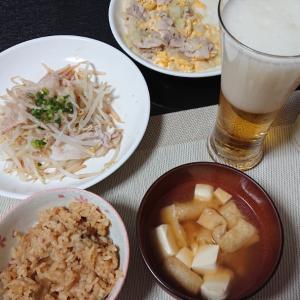 【人妻生活】昨日の晩御飯とコンビニデザート
