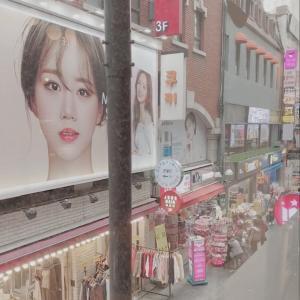 【韓国旅行記】美容大国韓国で皮膚管理DAY1 -3-
