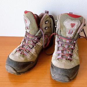 【日帰り低山】ハイカットのごつい登山靴に助けられている!と思う