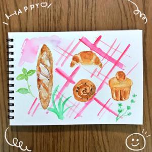 パンのイラスト♪