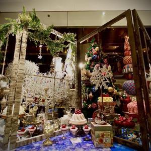 【西新宿】ヒルトン東京『マーブルラウンジ』クリスマス・マジカルウィンドー
