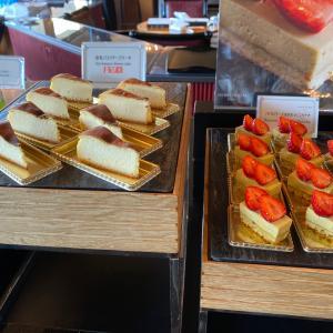 【赤坂見附】ホテルニューオータニ東京『ガーデンラウンジ』スーパーいちごビュッフェ2021