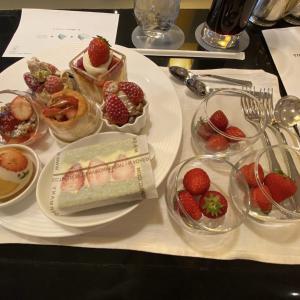 【恵比寿】ウェスティンホテル東京『ザ・テラス』ストロベリーデザートブッフェ