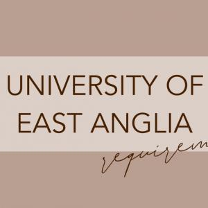 イーストアングリア大学の出願条件|University of East Anglia