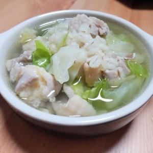 『もち麦とチキンのクミンスープ』のレシピ【もち麦で腸活♡④】