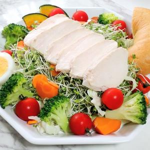 色々なたんぱく質源で栄養バランスアップWEEK!ヘルシー野菜ランチNo.21