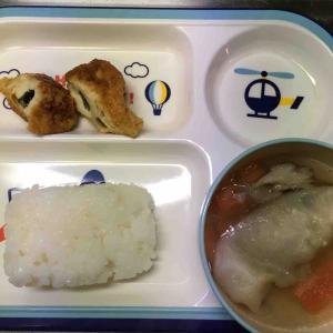 3/8 月曜日の幼児食ご飯