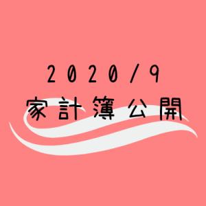 【2020年9月】30代共働き(妊婦)+2児の4人家族の家計簿公開!~つわり収束で散財!?~