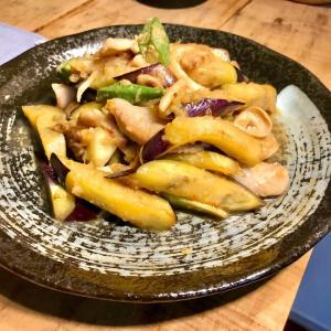 豚トロと茄子のおろし炒め☆ガッツリ食べたいのに、サッパリいける?