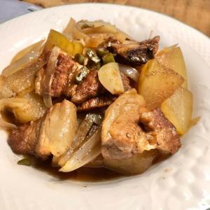 スペアリブと冬瓜のバルサミコ煮込み☆イタリア風の酢豚って言ってもいい?